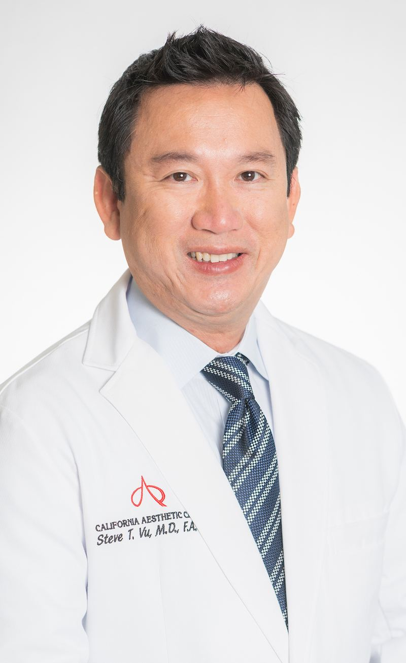 Board Certified Plastic Surgeon, Dr. Steve Vu of California Aesthetic Center in Orange County